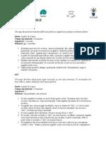 projeto Birncadeiras