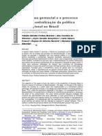 A reforma gerencial e o processo de descentralização  da política habitacional no Brasil