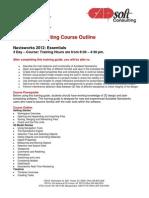 CADsoft Consulting Course Outline - Navisworks 2012 Essentials