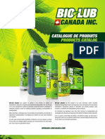 Catalogue Biolub Canada