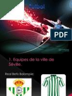 Presentación équipes football - Espagne