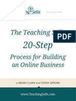 Teaching Sells Roadmap 2012