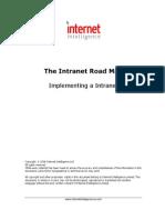 Intranet Road Map