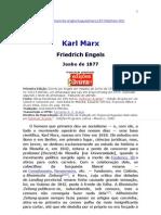 Marx - Biografia Por F. Engels