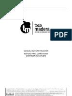 24 Manual Ropero or Principal Con Mesa Estudio