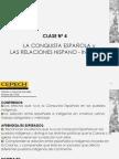4º La Conquista Española y Las relaciones Españo-Indigenas