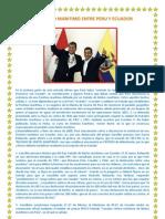 Diferendo Maritimo Entre Peru y Ecuador