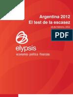 2012-02 -Argentina 2012 El Test de La Escasez