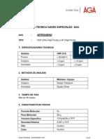HOJA TECNICA - Nitrógeno HP-UHP  AGA