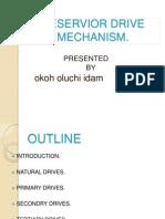 Reservior Drive Mechanism