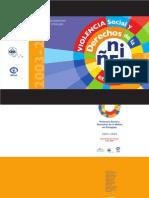 Violencia Social y Derechos de la Niñez  en Paraguay 2003 - 2005