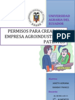 Patentes y Permisos Para Constituir Una Empresa