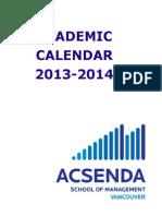 Acsenda Calendar - Part 1