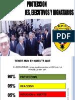 Proteccion Vip, Proteccion a Dignatarios