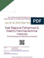 East Regional Fatherhood Conference