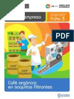 Plan Para Crear Cafeo en Saquitos Filtrantes