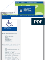 CONADIS. DISCAPACIDAD:Accesibilidad Del Sitio