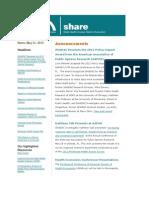 Shadac Share News 2012may31