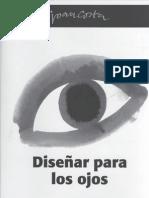 DISEÑAR PARA LOS OJOS - JOAN COSTA