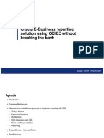 Using OBIEE Without Breaking the Bank