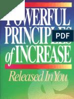Powerful Principles of Increase - Avanzini