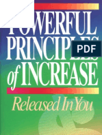 Powerful Principles of Increase - Avanzini