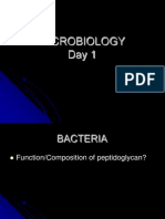 Day 1 Bacteria