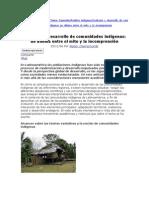 Desarrollo de Comunidades Indigenas
