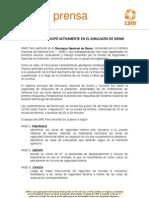 CARE Perú participó ACTIVAMENTE EN EL SIMULACRO DE SISMO