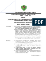Perda Nomor 2 Thn 2010 Ttg Badan Penanggulangan Bencana
