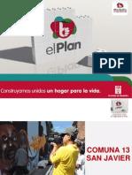Plan de Desarrollo 2012-2015 Comuna 13
