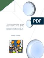APUNTES DE SOCIOLOGÍA