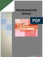 Ejercicios de programación SQL Server2008