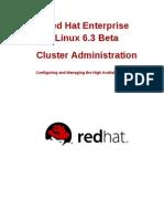 Red Hat Enterprise Linux 6 Beta Cluster Administration en US