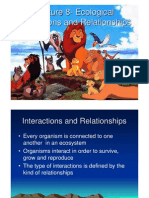 Lecture 8 - Interactions and Relationships