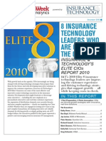 8 Insurance Technology Leaders Who Are Changing the Game Insurance Technologys Elite CIO