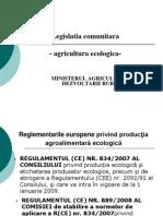 Prezentare legislatie comunitara - Agricultura ecologica.ppt
