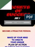 20071128 - SECRETS OF SUCCESS - Part 2 - 33s - ABSC -