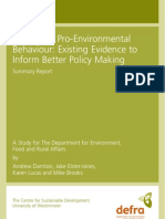 Promoting.pro Environmental.behaviour