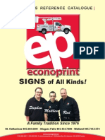 Econoprint Signs Catalogue