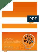 MSA2000 Technical Cookbook - June 2nd 2009 - 4AA2-5505ENW