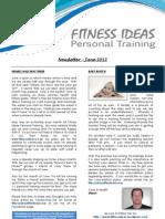 Fitness Ideas Newsletter - 1 June 2012