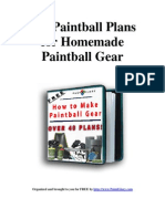 How to Make Paintball Gear