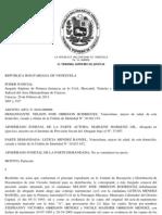 SENTENCIA DEL TRIBUNAL PARA LA PROTECCION DE NIÑO , NIÑA Y ADOLECENTES