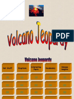 Volcano Jeopardy