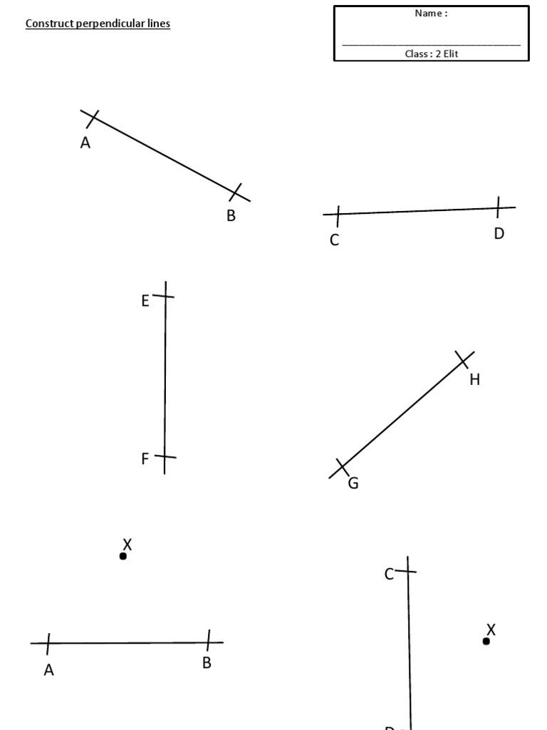 Latihan Form 2 Geometrical Construction