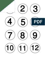 Number Choosing Caps