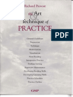Art and Technique of Practice