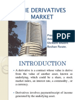The Derivatives Market