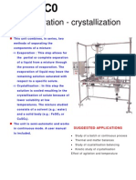 Evaporation Crystallization GPCVC0
